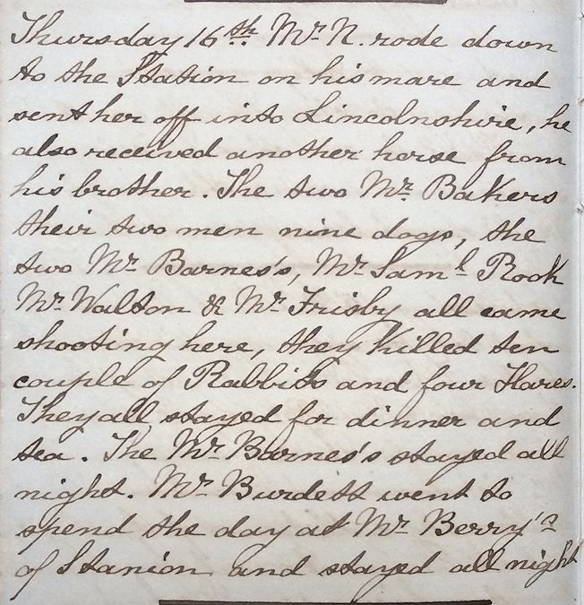 Example of Clarkes writing style in January 1862